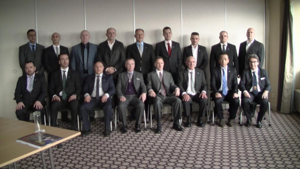 年1回ヨーロッパにて行われるISKA世界役員会議の様子 3
